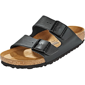 Birkenstock Arizona Sandals Birko-Flor Nubuk Narrow, black